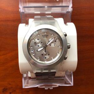 Swatch Women's Silver Watch